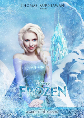 Amazing 15 Celebrities as Disney Characters