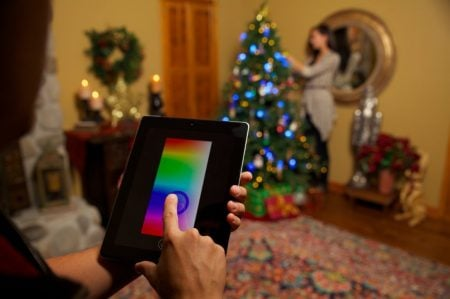Christmas Lights you Can Control with an App