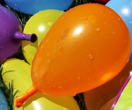 Self-Tying Water Balloons