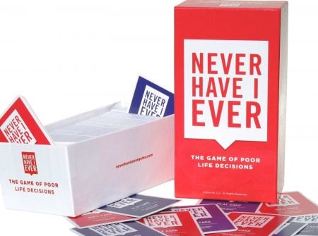 Never Have I Ever Card Game