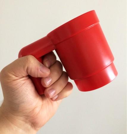 Upscaled Lego Mug