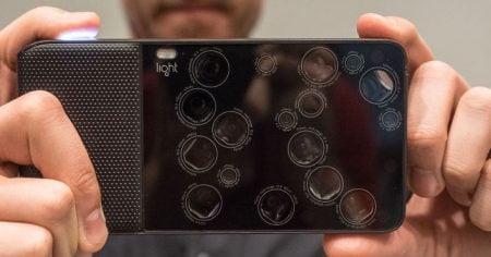 Light Camera - 16 Lenses in One Camera