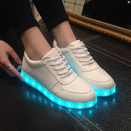 Colorful LED Light Up Shoes