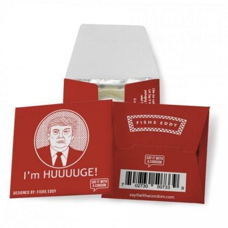"""Trump """"I'm Huuuuge"""" Condoms"""