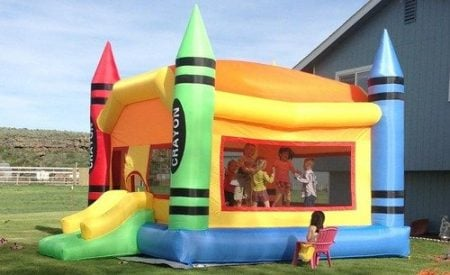 Inflatable Crayon Bounce House