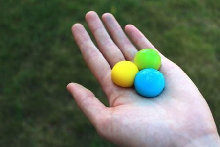 Throwable Paint Balls