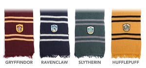 Harry Potter Scarf Types