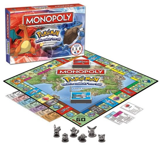 Pokemon Monopoly Board
