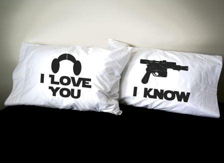 Star Wars Love Pillows