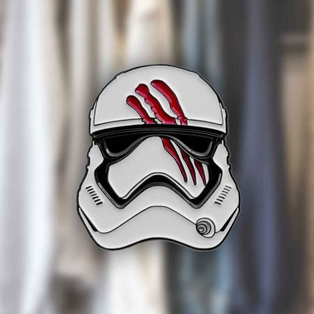 Star Wars Blood-Smeared Finn Helmet Pin