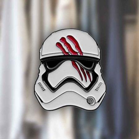 Star Wars Blood-Smeared Finn Helmet Pin