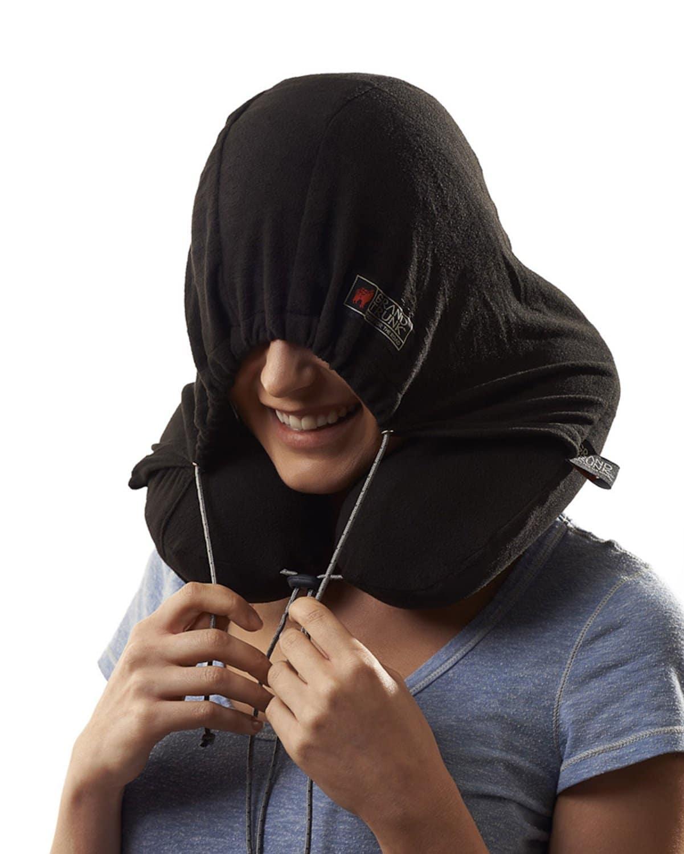 Awesomestufftobuy Hooded Neck Pillow
