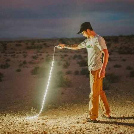 Portable LED Light Rope and Lantern