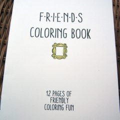 Friends (TV Show) Coloring Book