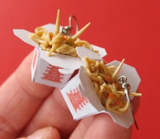 Chinese Take Out Earrings