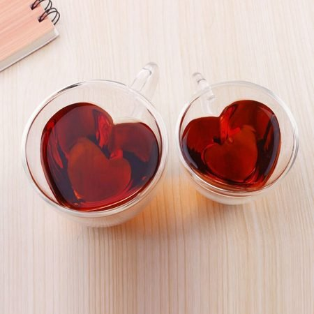 Heart Shaped Tea Cups