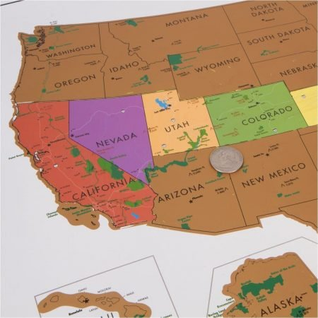 US Parks Scratch Off Map Awesome Stuff To Buy - Buy us map