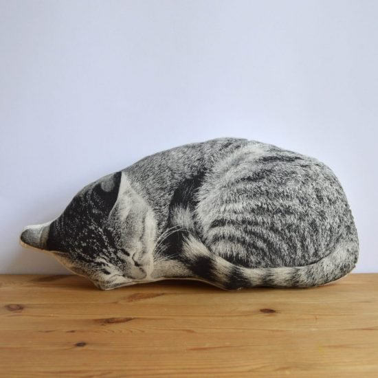 Sleeping Cat Pillow