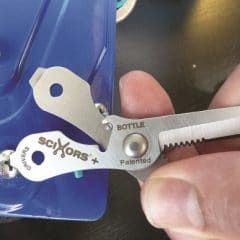Key Ring Multi-Tool Scissors