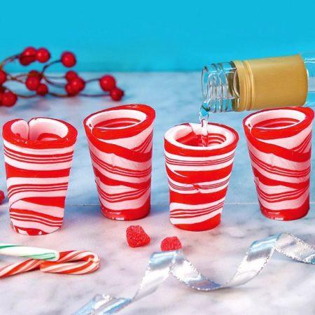 edible-candy-cane-shot-glasses