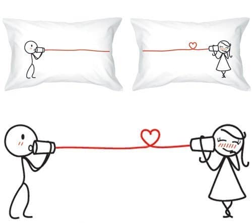 I Love You Pillow Cases