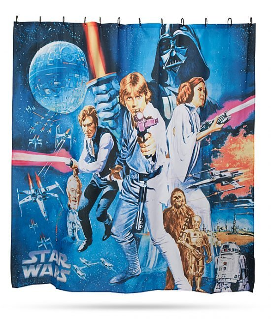 Star Wars Shower Curtain 550x647