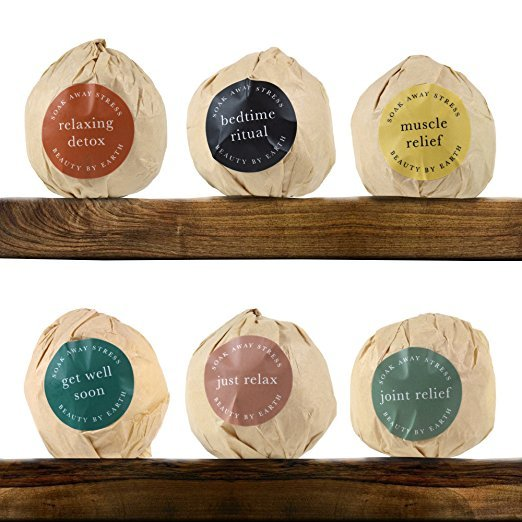 Beauty by Earth - Organic Bath Bombs Variety 6pk