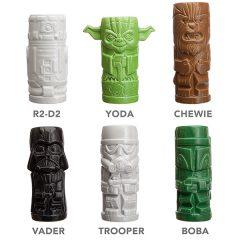 Star Wars Tiki Mugs