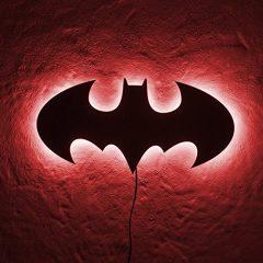 Light Up Batman Sign
