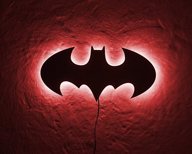 Light Up Batman Sign