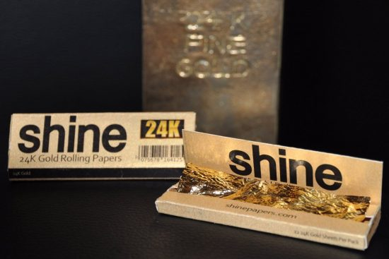 24k Gold Rolling Papers