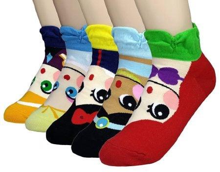 JJMax Princess Series Character Socks