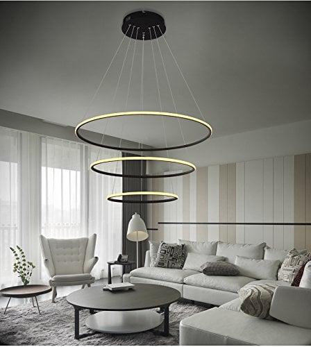 Circular LED Chandelier