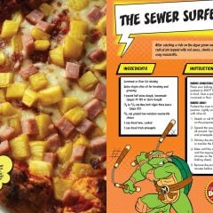 TMNT Pizza Cookbook