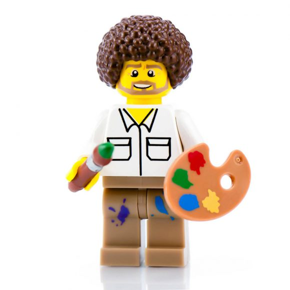 Bob Ross Lego Set
