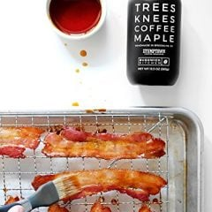 Coffee Infused Maple Syrup