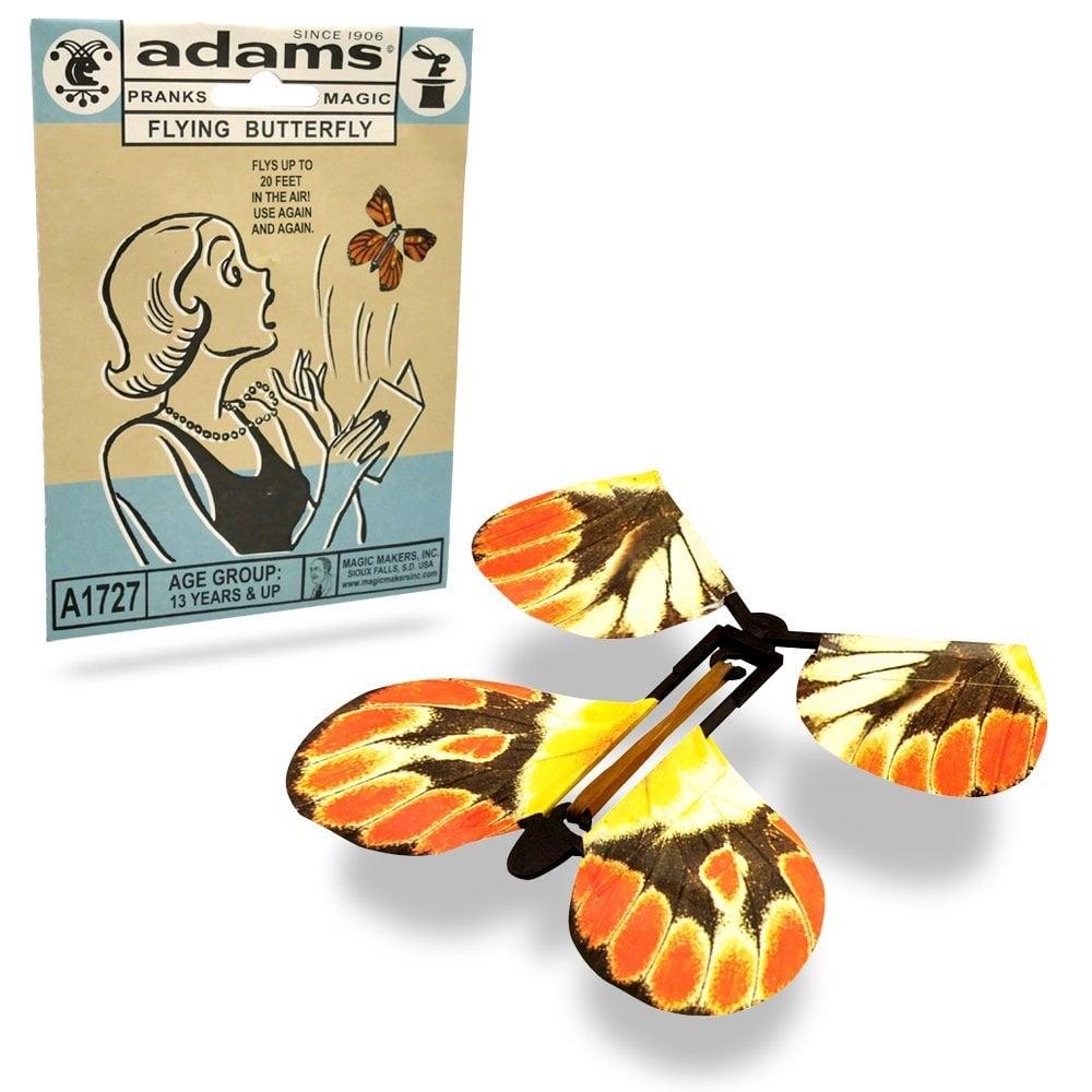Flying Butterfly Prank Card