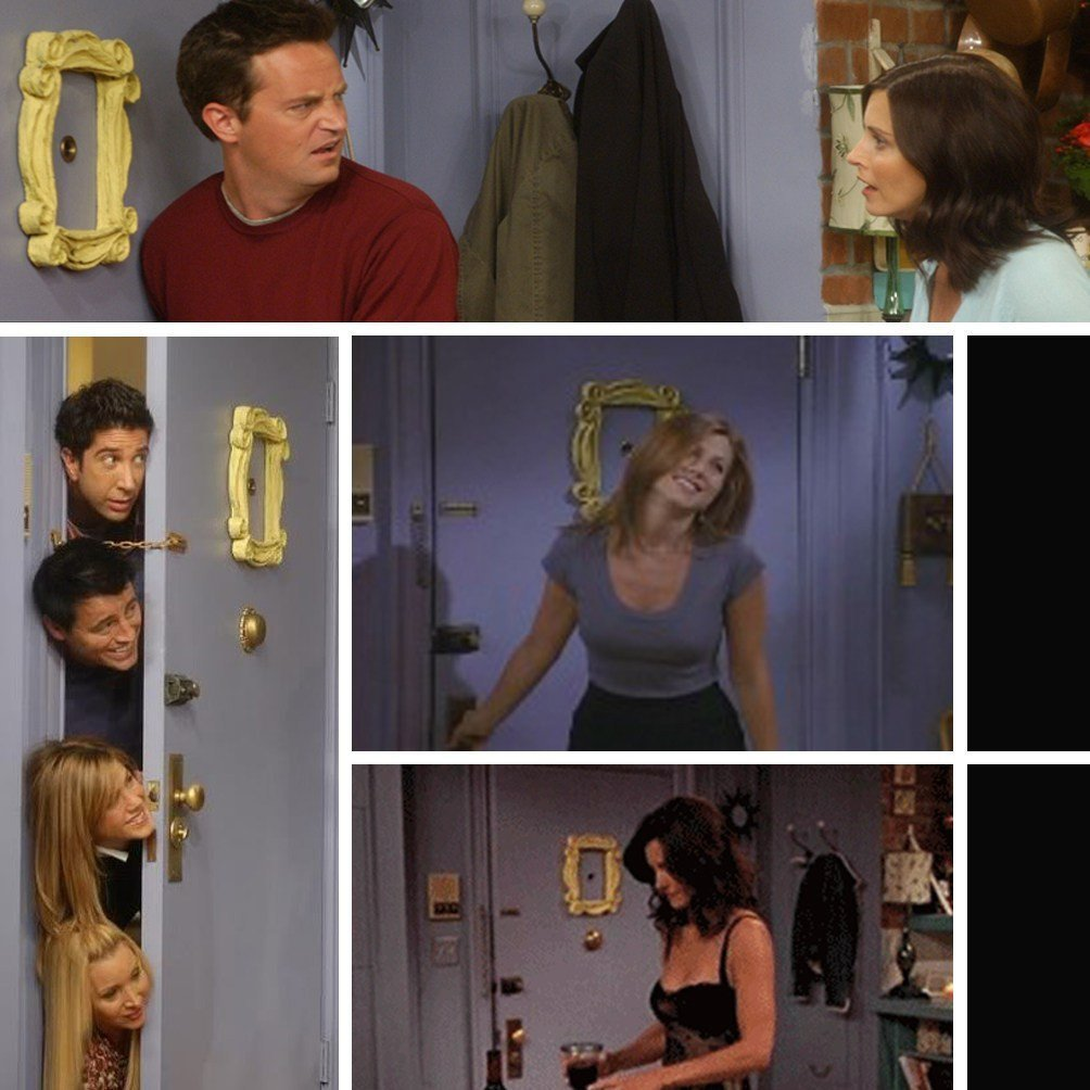 Friends Peephole Frame Replica