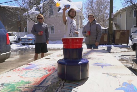 Moving Beer Pong Bot