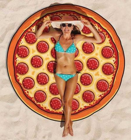 Pizza Beach Blanket