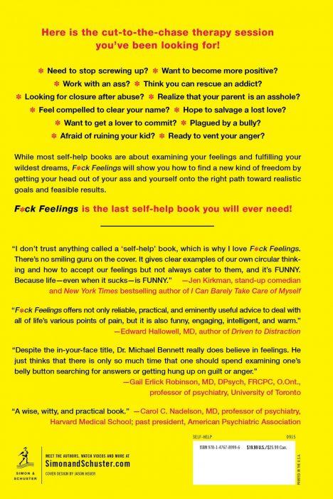 F*ck Feelings Book