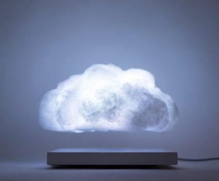 Levitating Cloud Lamp