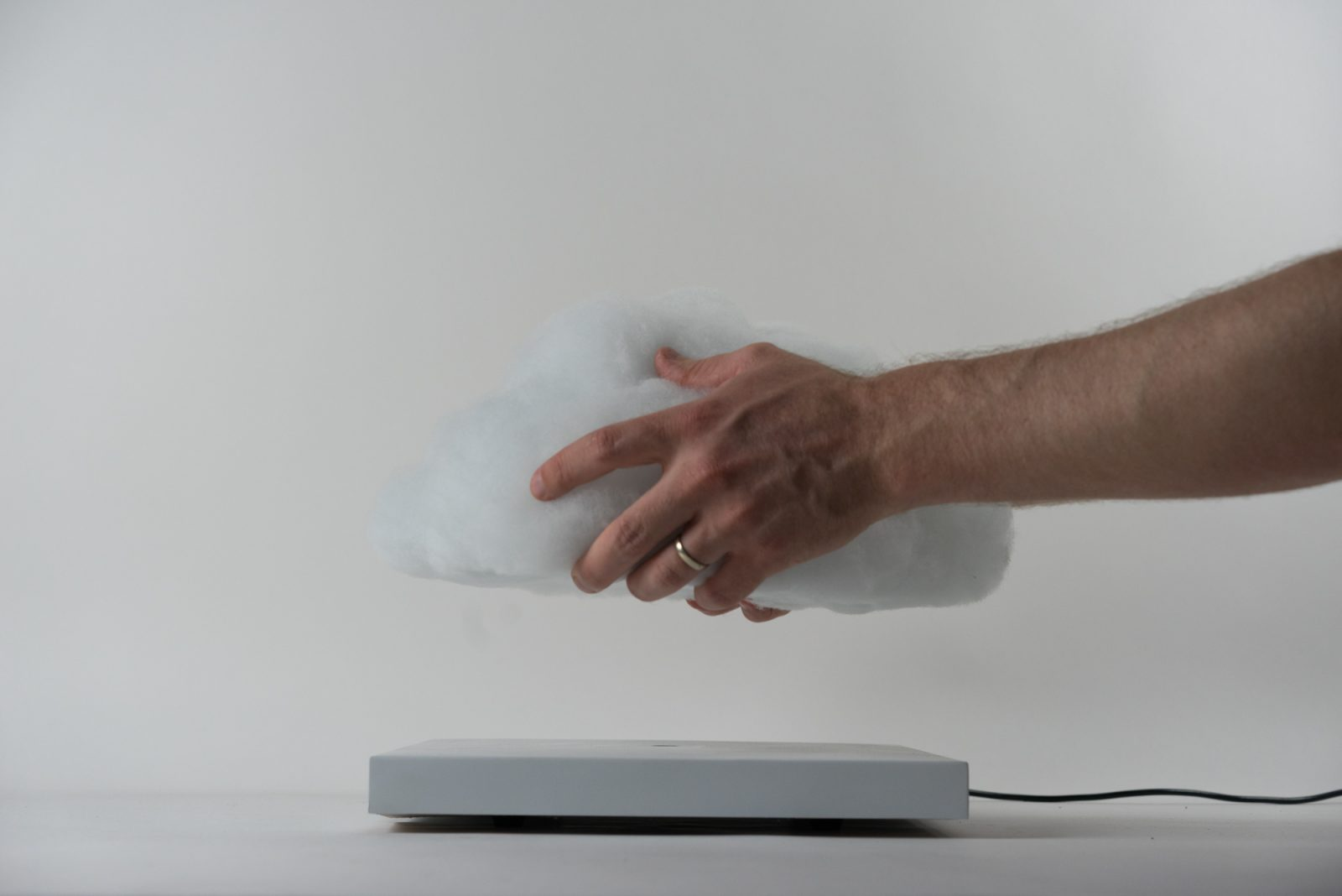Levitating Cloud Lamp