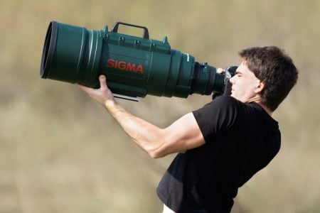 Massive Telephoto Zoom Lens