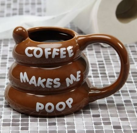 Poo-shaped Coffee Mug