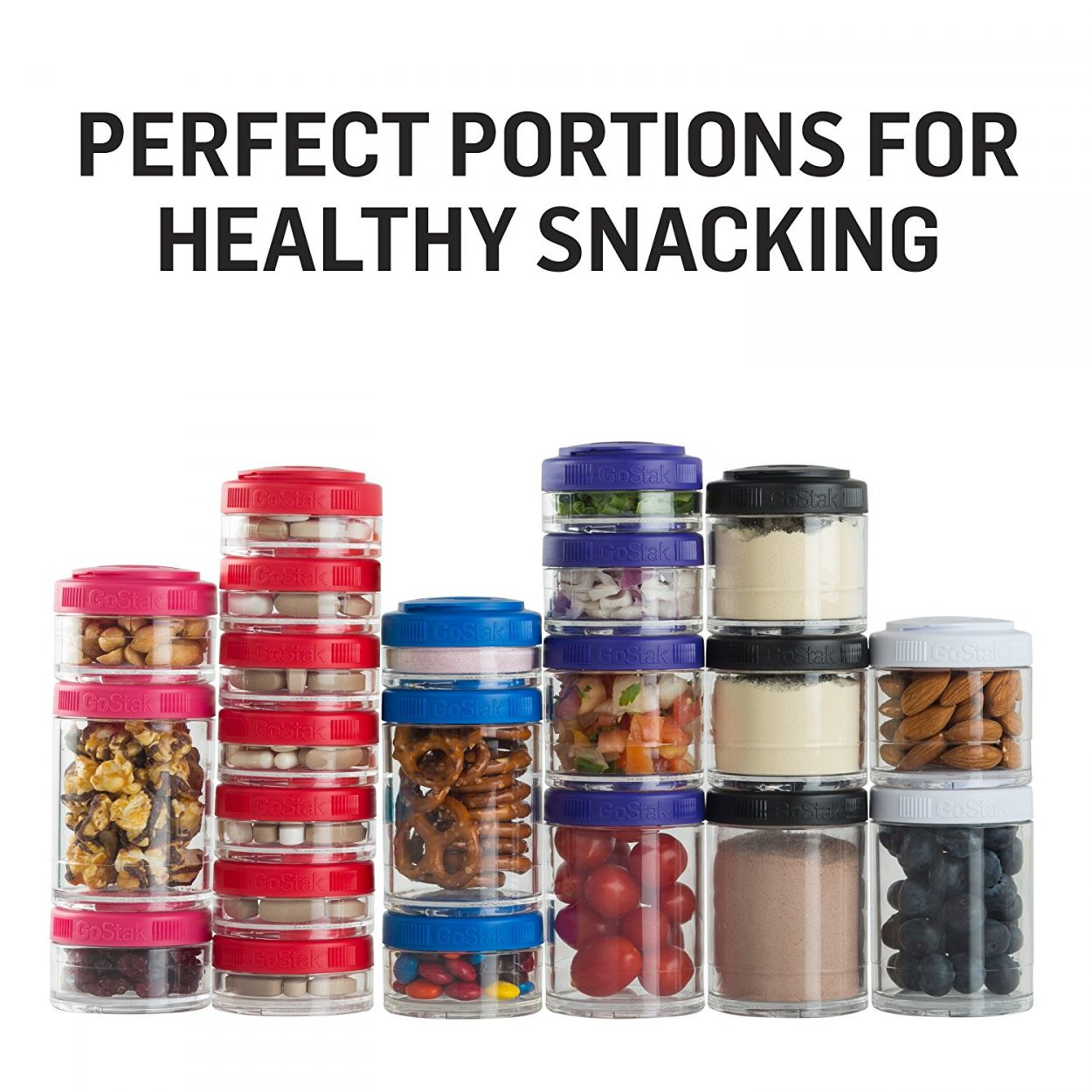 Portable Snack Storage Jars