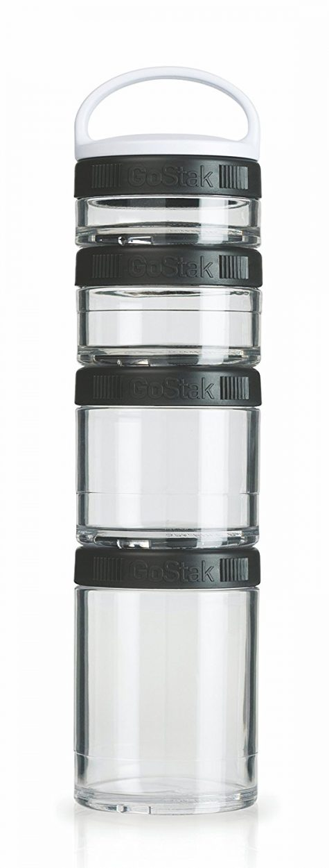 Portable Snack Storage Jars