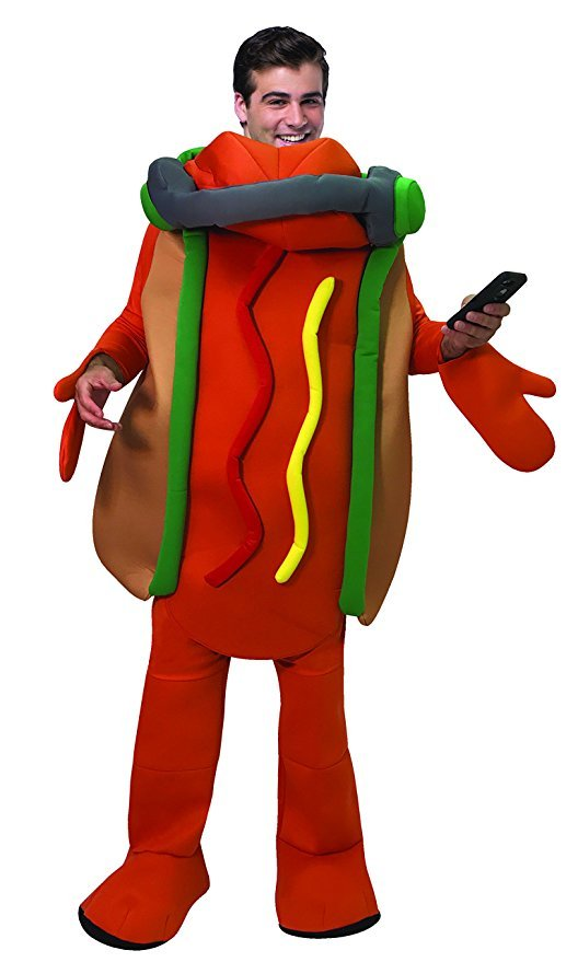 Snapchat Dancing Hot Dog Costume