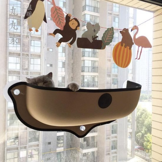 Window Hammock for Cats