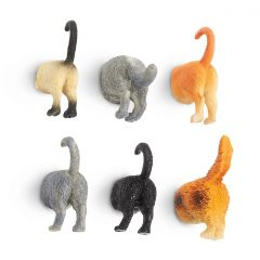 Cat Butt Fridge Magnets
